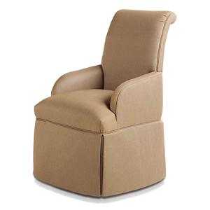 Sebastian Skirted Arm Chair