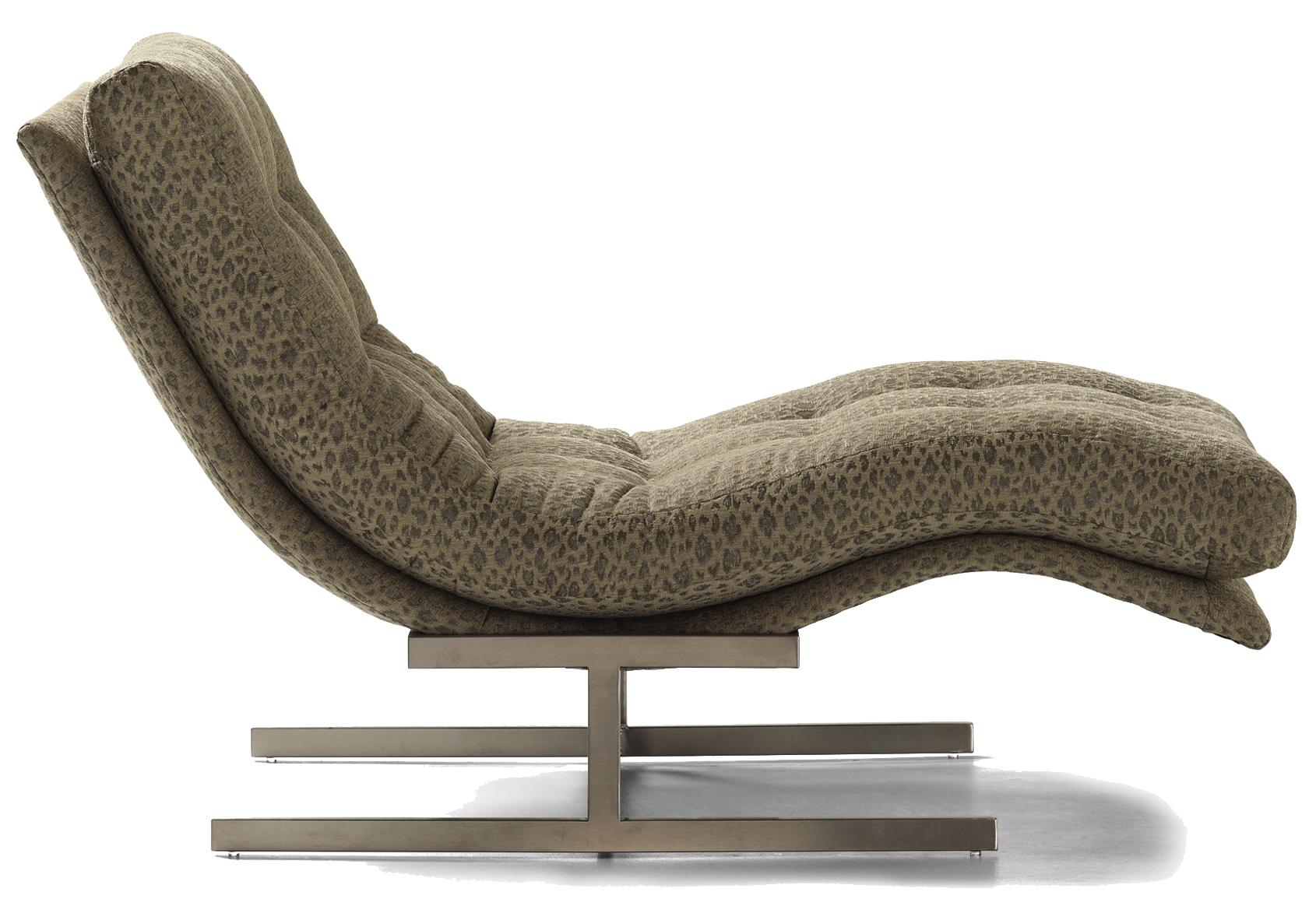 Fine Upholstered Accents Hug Chaise