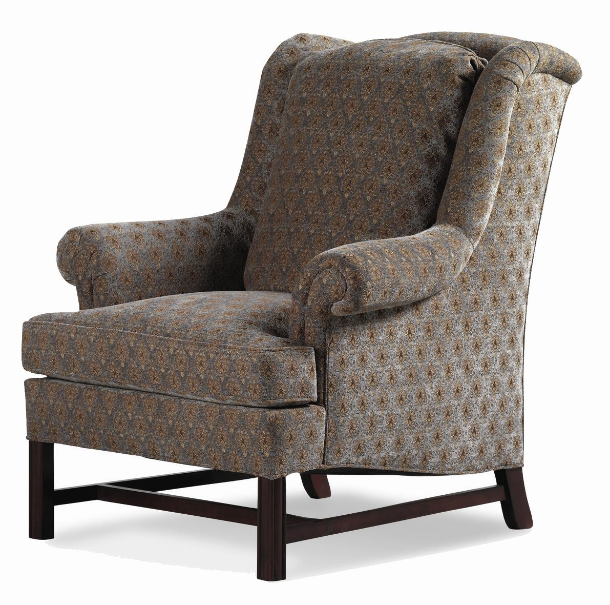 Alexander Chippendale Wing Chair