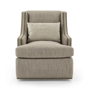 Jessica Charles Fine Upholstered Accents Crosby Swivel Chair