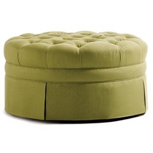 Jessica Charles Fine Upholstered Accents Dinah Ottoman