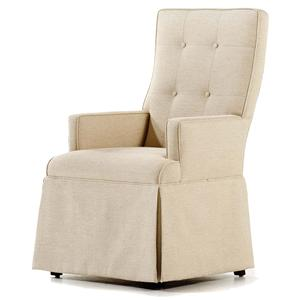 Baye Skirted Arm Chair