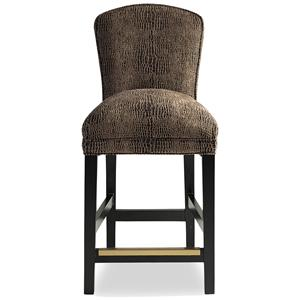 Hattie Memory Swivel Bar Stool