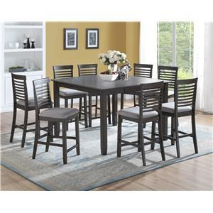 Table with 8 Chairs