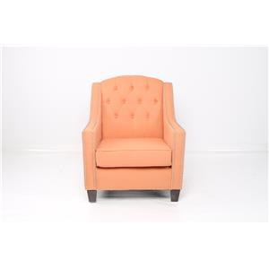 JGW Furniture Accents Sachi Tangelo Accent Chair