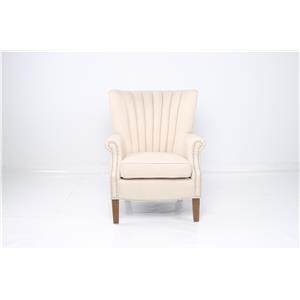 JGW Furniture Accents Linen Accent Chair