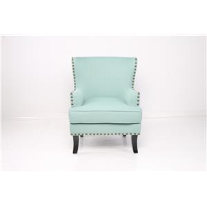 JGW Furniture Accents Sachi Laguna Accent Chair