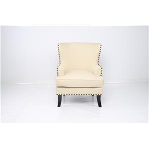 JGW Furniture Accents Sachi Ricepaper Accent Chair