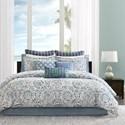 JLA Home Echo Design Queen Comforter Set - Item Number: EO10-1401