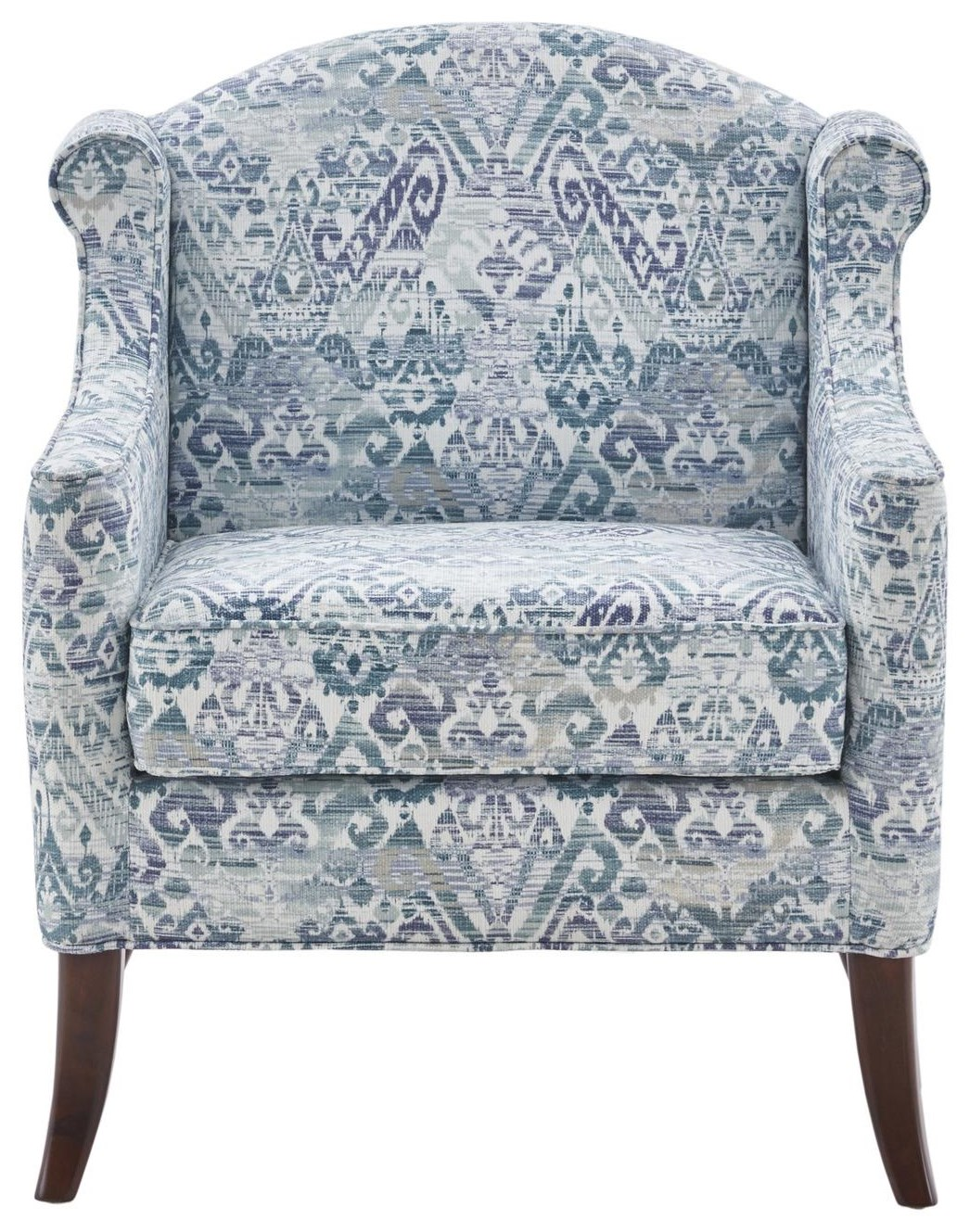 Home Accents Blue Print Accent Chair at Belfort Furniture
