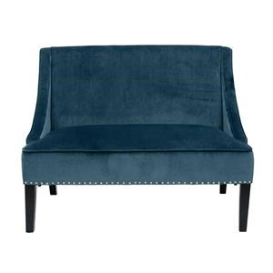 Small Blue Settee