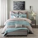 JLA Home Hampton Hill King Comforter Set - Item Number: FB10-1018