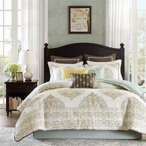 4 Piece Queen Comforter Set