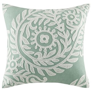 "JLA Home Harbor House 18"" X 18"" Square Pillow"