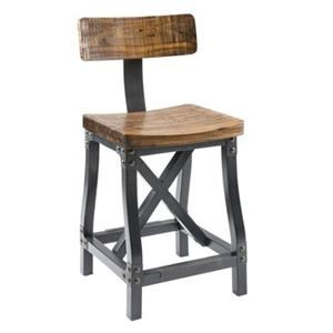 JLA Home Lancaster Counter Stool with Back