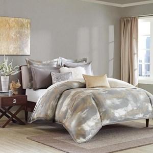 Queen Jacquard Comforter Set