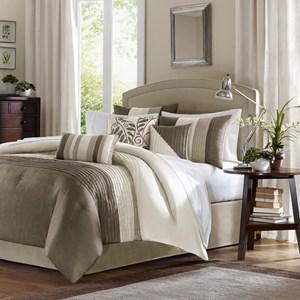 7 Piece Queen Comforter Set