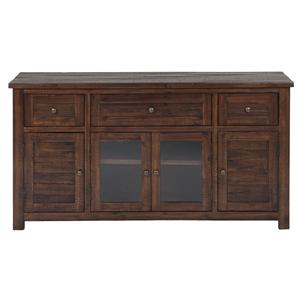 "Jofran Urban Lodge Brown  60"" Media Unit"