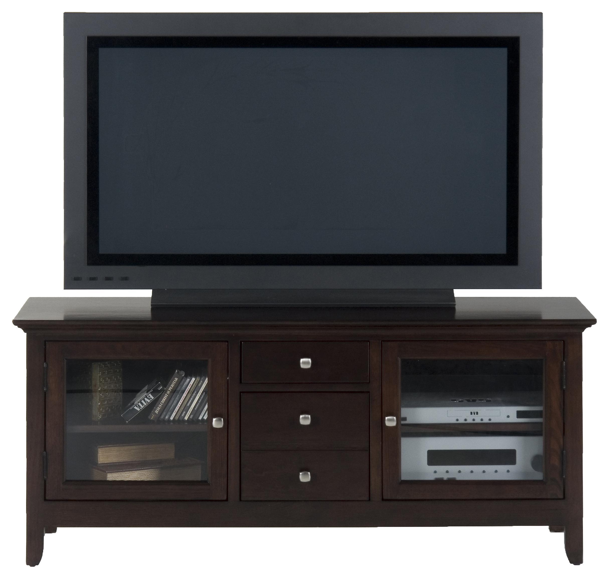 Jofran Fresno Merlot TV Media Cabinet - Item Number: 040-9