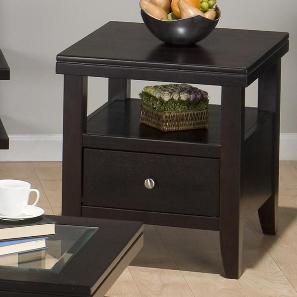 Jofran Marlon Wenge End Table - Item Number: 091-3