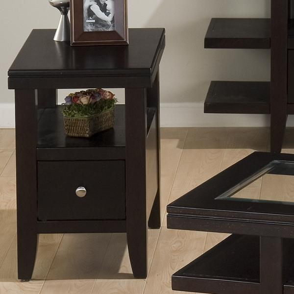 Jofran Marlon Wenge Chairside Table - Item Number: 091-7