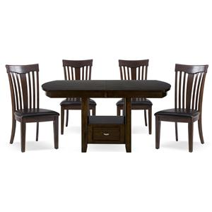 Jofran Mila 5-Piece Dining Set