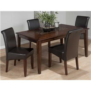 Jofran Baroque 7-Piece Dining Table & Chair Set