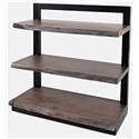 Jofran 1982 Small Grey Shelf Unit - Item Number: 337.198232