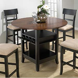 Jofran Jofran 218 Counter Height Double Leaf Table