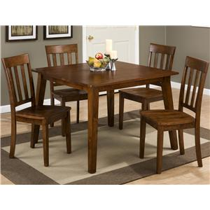 Morris Home Furnishings Tahoe Tahoe 5 Piece Dining Set
