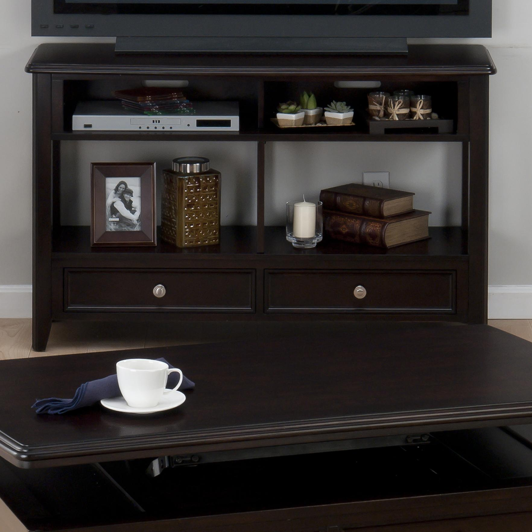 Jofran Corranado Espresso Sofa/Media Unit - Item Number: 319-4