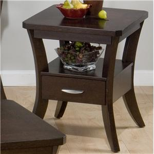 Jofran Joe's Espresso End Table