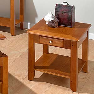 Jofran Oak  End Table