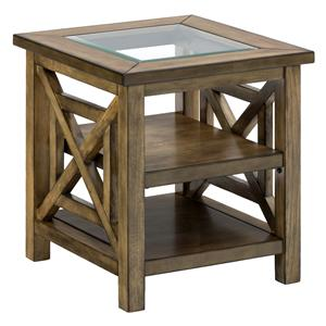 Jofran Brady Birch End Table