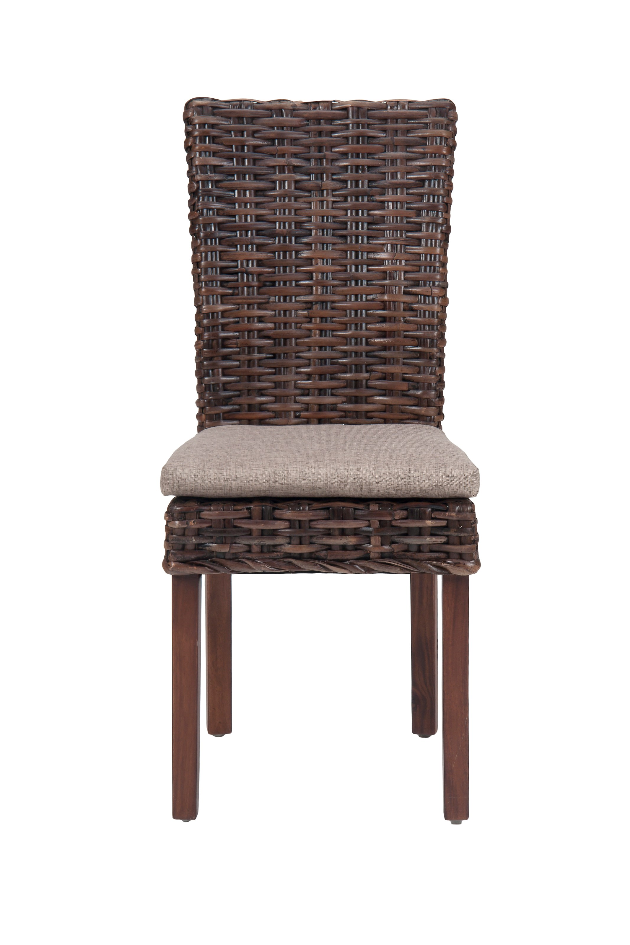 Jofran Urban Lodge Rattan Side Chair - Item Number: 733-401KD