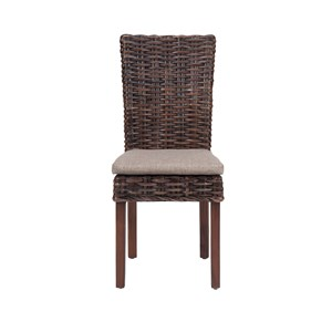 Jofran Urban Lodge Rattan Side Chair