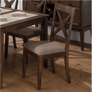 Jofran Tucson Brown  Nova Side Chair