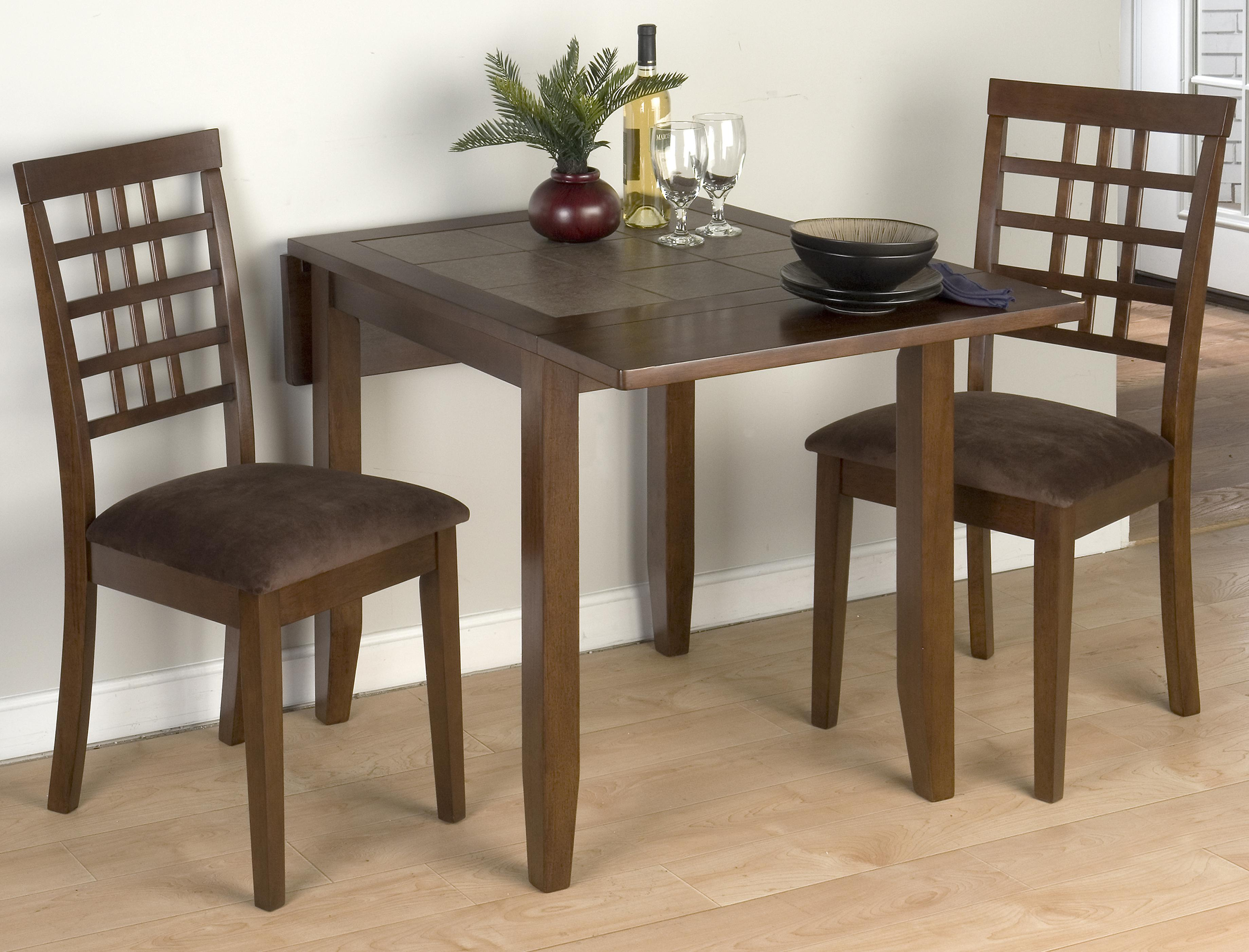 Jofran Chelsea 3 Piece Table and Chair Set - Item Number: 976-30+2x515KD