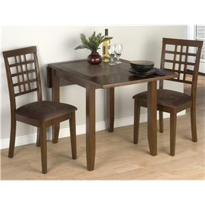Jofran Chelsea 3 Piece Table and Chair Set