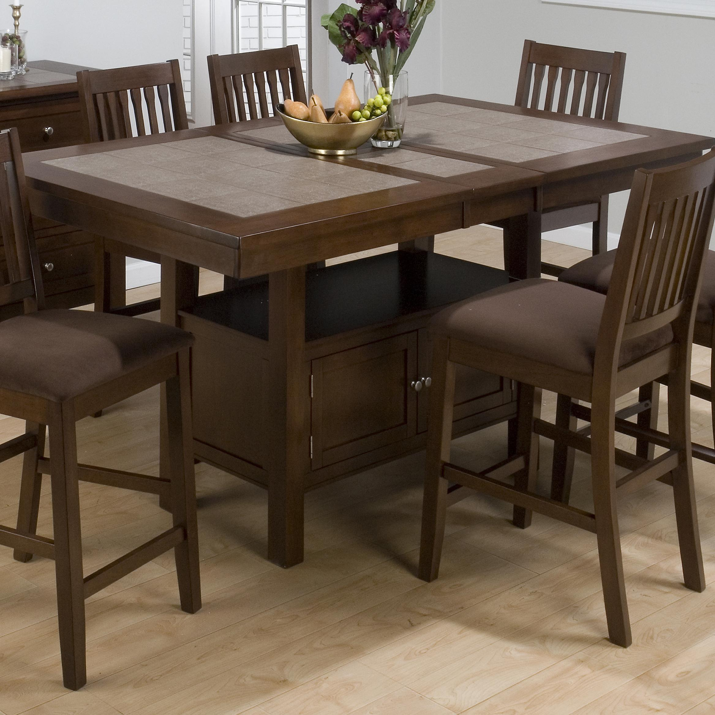 Morris Home Furnishings Derby Derby Dining Table Top & Base - Item Number: 976-72B+72T