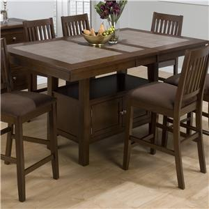 Morris Home Furnishings Derby Derby Dining Table Top & Base
