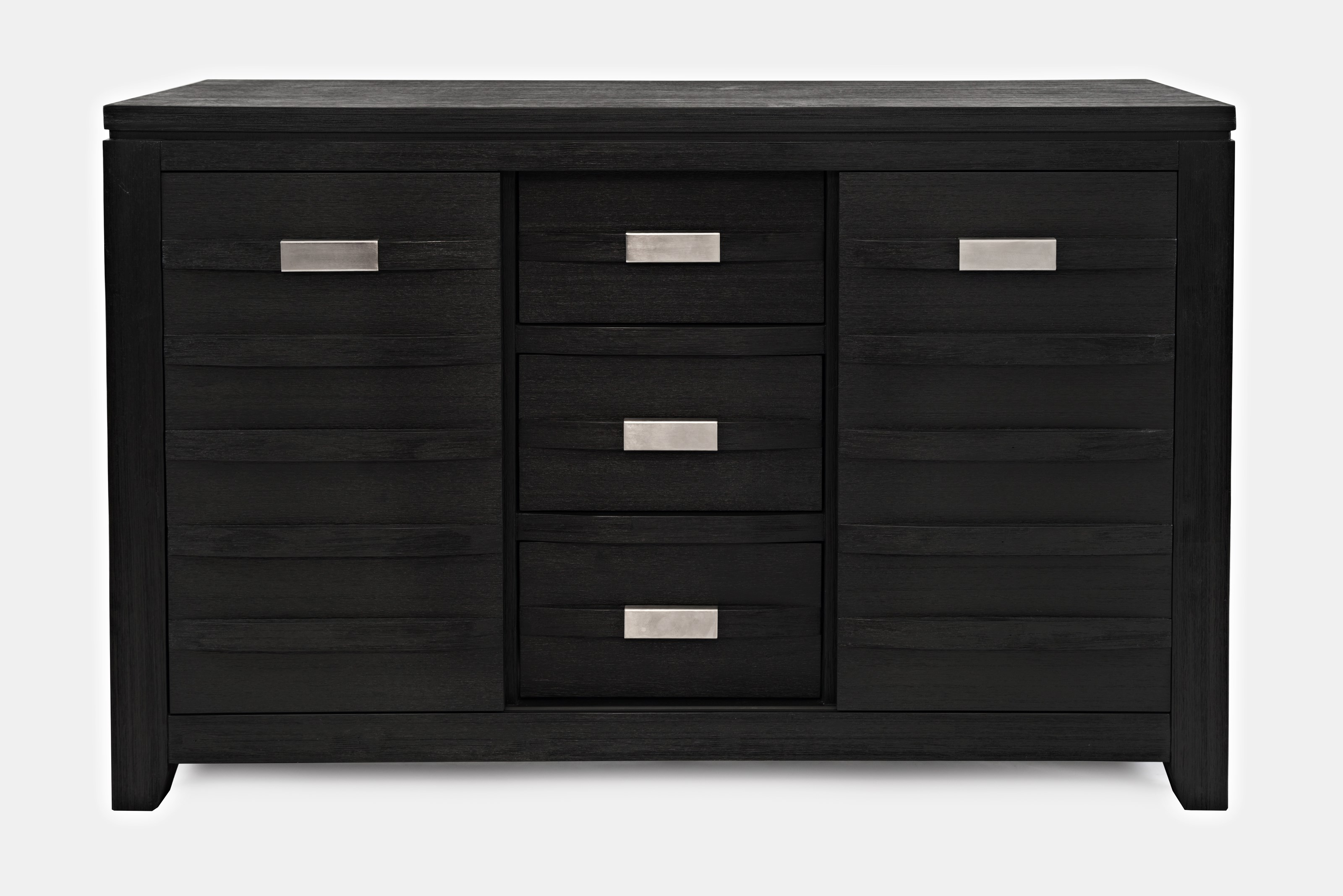 "Altamonte 54"" Server w/Three Drawers and Sliding Door by Jofran at Home Furnishings Direct"