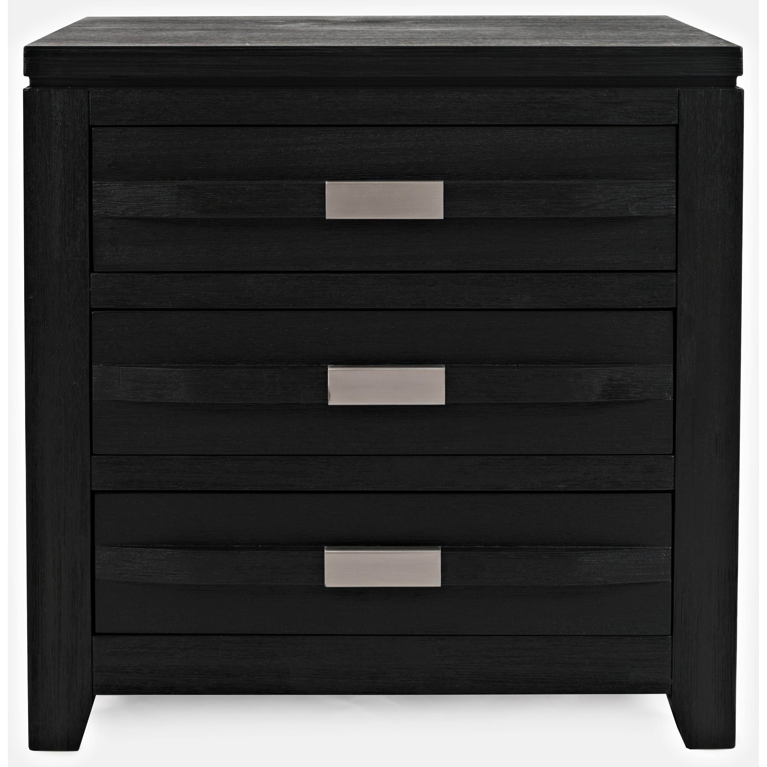 Altamonte 3 Drawer Power Nightstand by Jofran at Pilgrim Furniture City