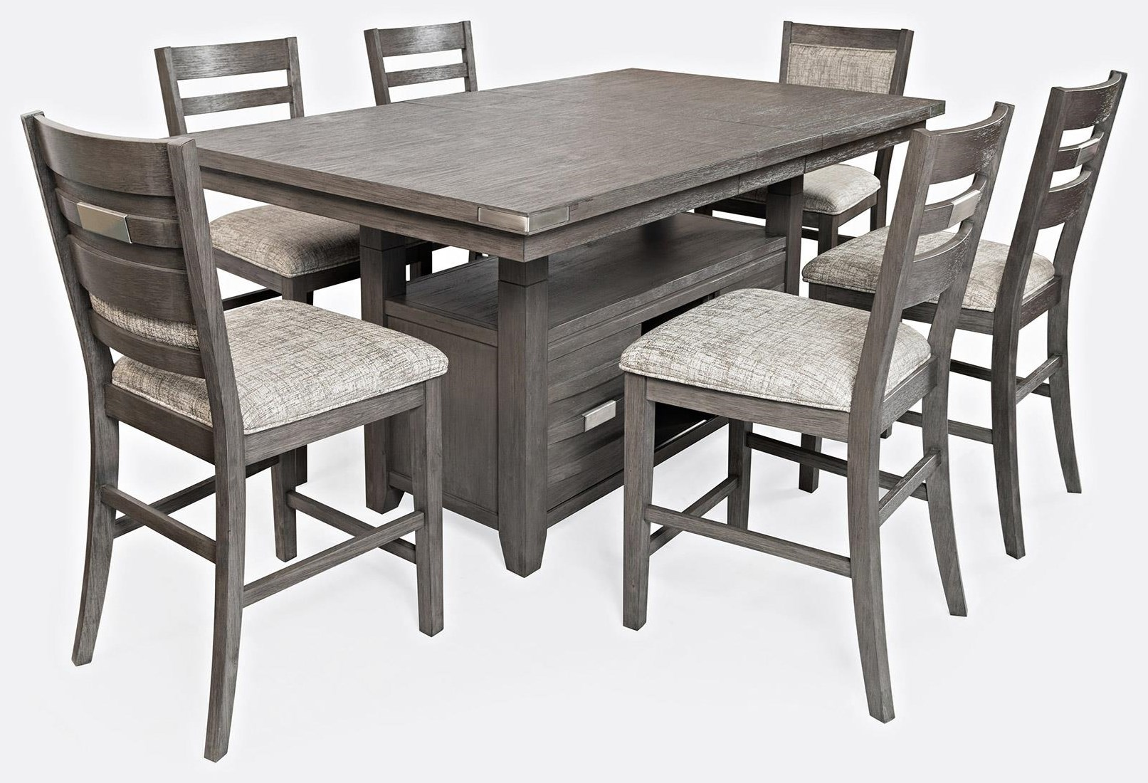 Counter Height Table and 6 Counter Stools