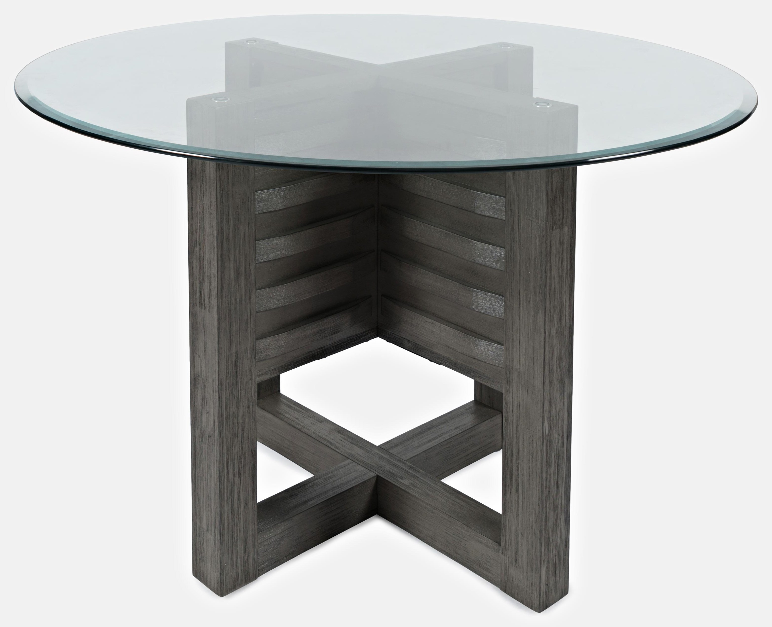 """48"""" Round Glass Dining Table"""