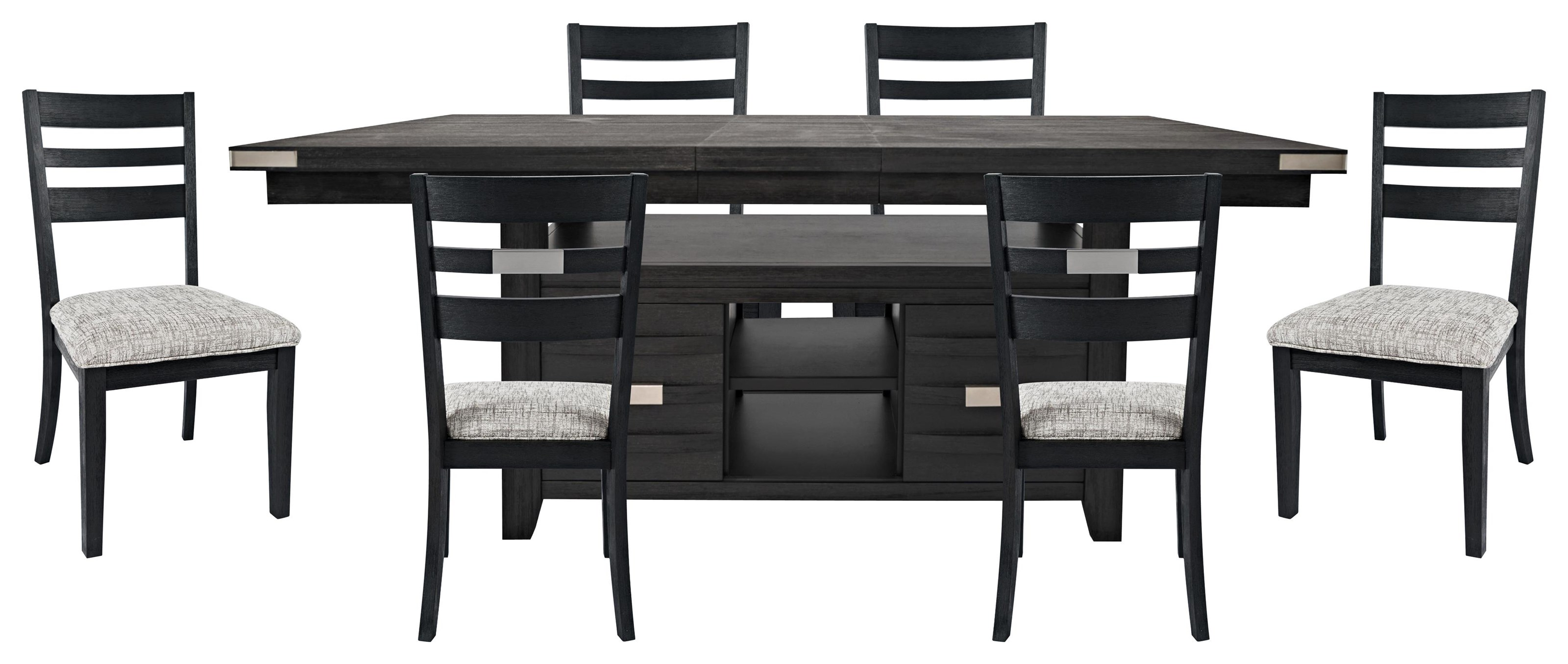 Altamonte Table & 6 Chairs at Bennett's Furniture and Mattresses