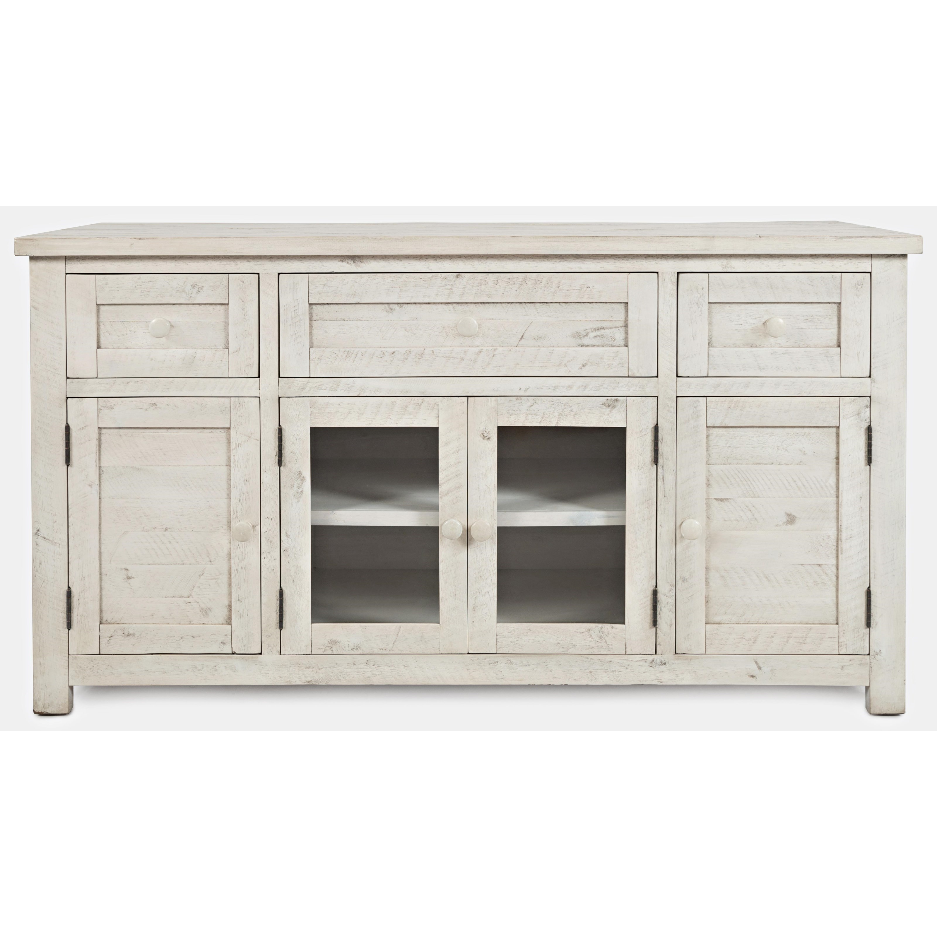 American Folklore Media Console by Jofran at Home Furnishings Direct
