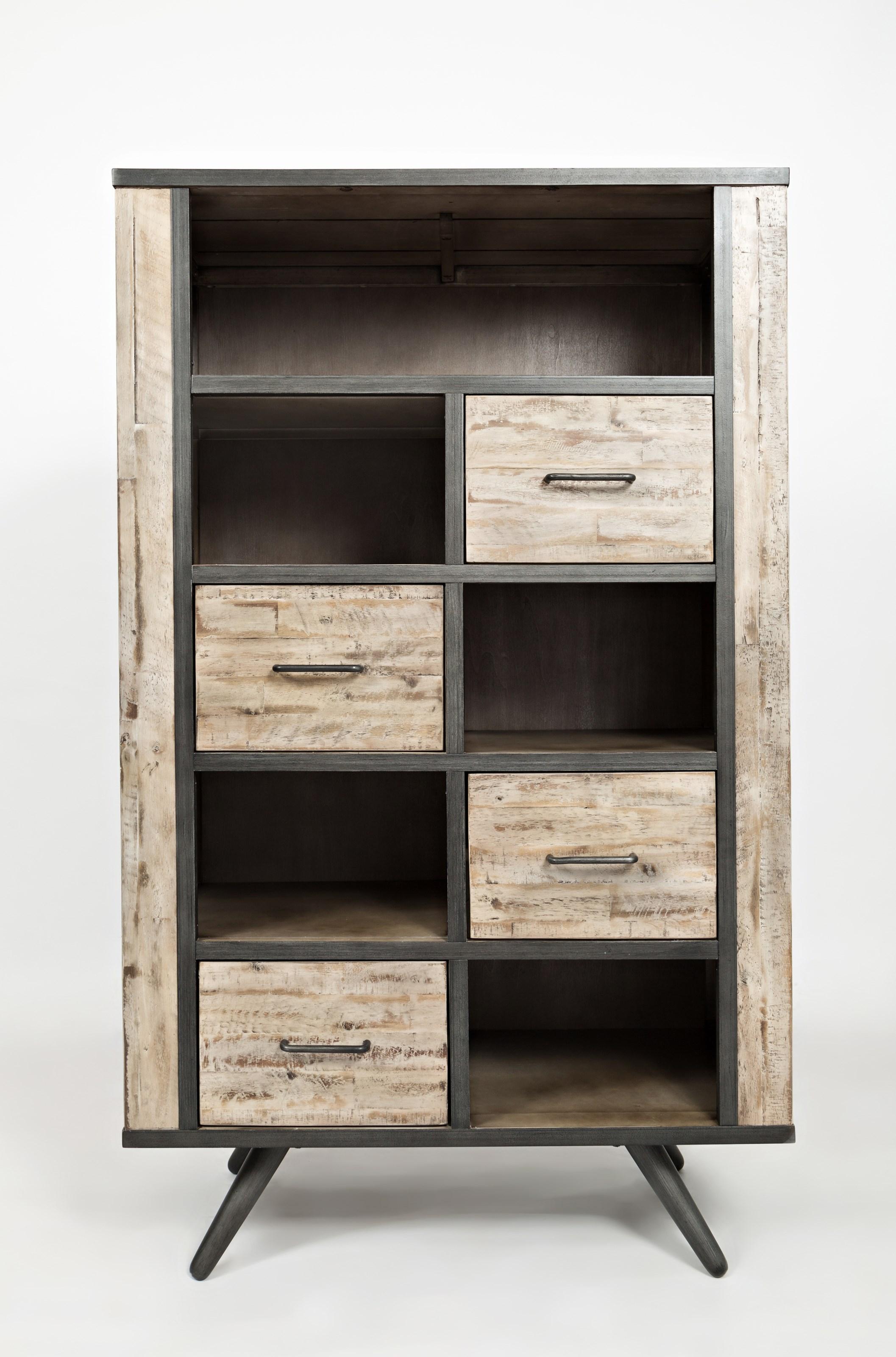 Jofran American Retrospective Bookcase - Item Number: 1640-36