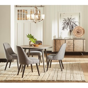 """42"""" Round Dining Table and Chair Set"""