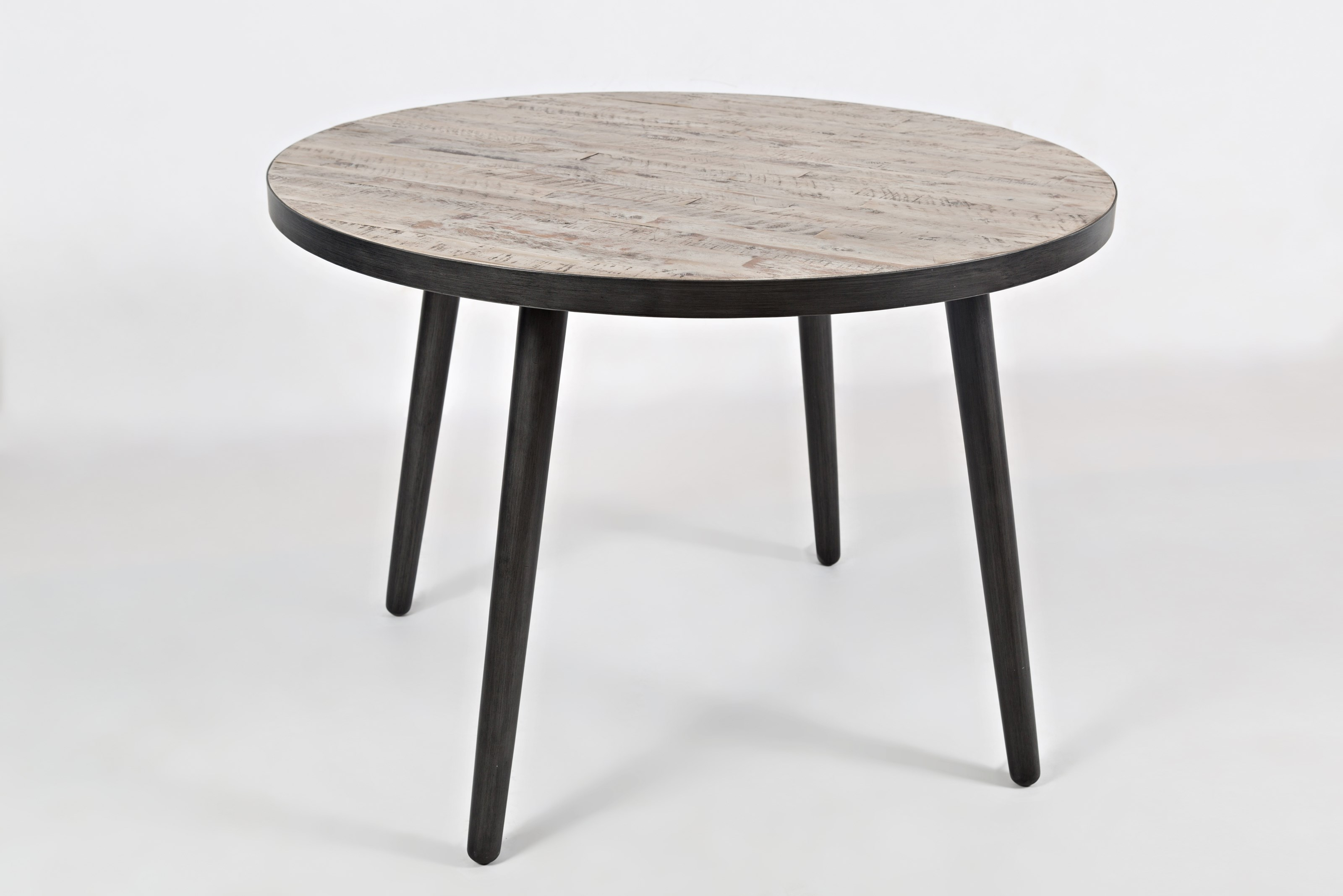"American Retrospective 42"" Round Dining Table by Jofran at Simply Home by Lindy's"